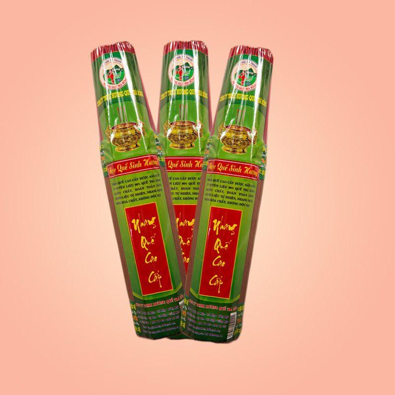 Nhang Quế Trà Bồng cao cấp ngắn 30cm