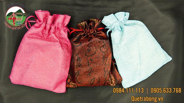Túi thơm sáp quế phù hợp để khử mùi hôi và tạo hương thơm tự nhiên